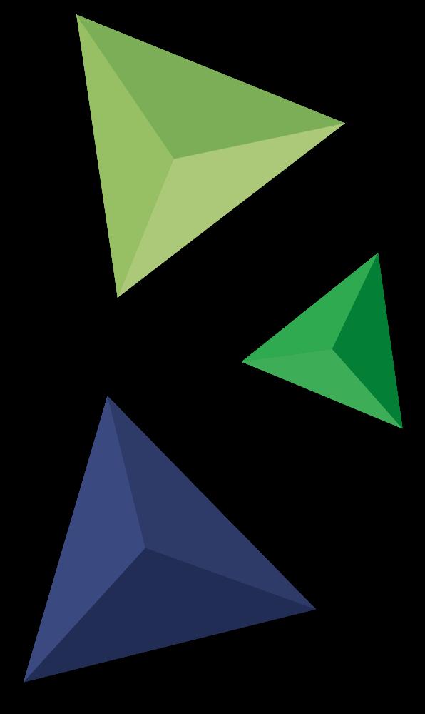 Drie Bloxz Figuren