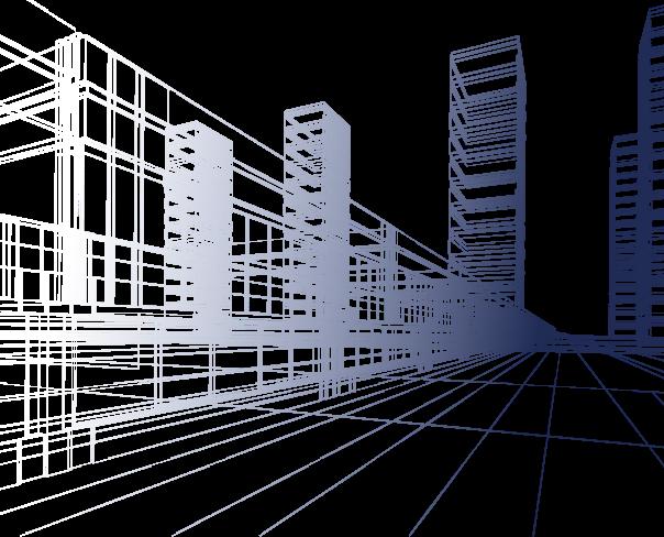 Schets van een bouwwerk